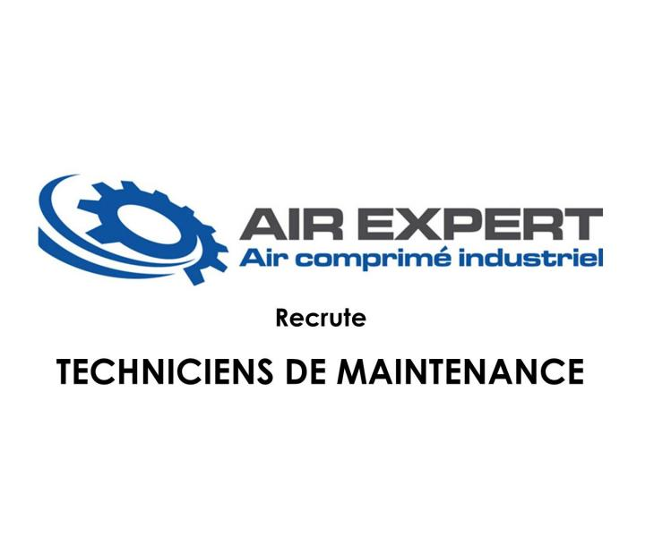 AIR EXPERT RECRUTE DES TECHNICIENS DE MAINTENANCE